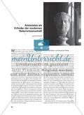 Aristoteles als Erfinder der modernen Naturwissenschaft Preview 1