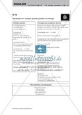 La discothèque - Arbeitsblatt mit Rollenkarten, Aufgaben und Vokabelliste zum Thema