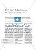Die First Lady der Lateinstunden - Aufbau und Dramaturgie einer Erschließungsstunde am Beispiel von Cicero, De re publica 1, 42 Preview 1