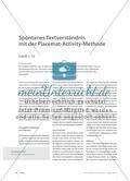 Spontanes Textverständnis mit der Placemat-Activity-Methode - Catull, c. 72 Preview 1