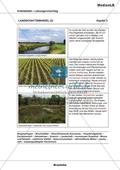 Landschaftswandel - Zuordnung von Bildern und Texten Preview 5