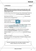 Aufbau des Waldes: Gliederung in Stockwerke - Einen Lückentext zum Nutzen alter Bäume ausfüllen Preview 1
