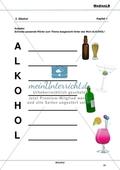 Alkohol - Risiken der Alltagsdroge: Ein Akrostichon zu