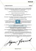 Sigmund Freud II - Der Psychoanalytiker: Lebenslauf Sigmund Freud Preview 2