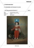 Bildanalyse: Manuel Osorio Manrique de Zuñiga von Francisco de Goya y Lucientes - Der erste persönliche Eindruck Preview 1