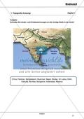 Indien: Nachbarländer und wichtige Städte Preview 2