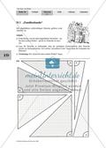 Satz des Thales - Bestimmung der Eigenschaften bestimmter Dreiecke Preview 1