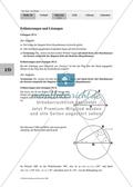 Satz des Thales - Bestimmung der Eigenschaften bestimmter Dreiecke Preview 2