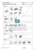Lernzielkontrolle - Texte schreiben: Vorgangsbeschreibung - Rezept Preview 2