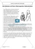 Lernzielkontrolle - Texte schreiben: Inhaltsangabe Preview 1