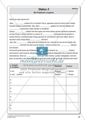 Satzbau - Station 2 und 3: Subjekte und Prädikate Preview 4