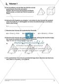 Körperberechnung - Volumen einer Pyramide Preview 2