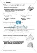 Körperberechnung - Volumen einer Pyramide Preview 3