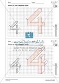 Geometrisches Zeichnen - Verdoppelung der Größe vorgegebener Zahlen bis 5 Preview 11
