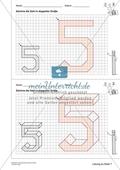 Geometrisches Zeichnen - Verdoppelung der Größe vorgegebener Zahlen bis 5 Preview 12