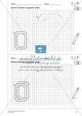 Geometrisches Zeichnen - Verdoppelung der Größe vorgegebener Zahlen bis 5 Preview 1