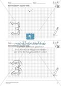 Geometrisches Zeichnen - Verdoppelung der Größe vorgegebener Zahlen bis 5 Preview 4