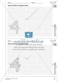 Geometrisches Zeichnen - Verdoppelung der Größe vorgegebener Zahlen bis 5 Preview 5