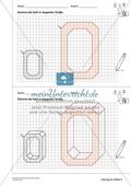 Geometrisches Zeichnen - Verdoppelung der Größe vorgegebener Zahlen bis 5 Preview 7