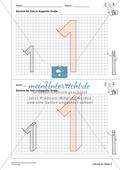 Geometrisches Zeichnen - Verdoppelung der Größe vorgegebener Zahlen bis 5 Preview 8
