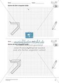 Geometrisches Zeichnen - Verdoppelung der Größe vorgegebener Zahlen bis 10 Preview 2