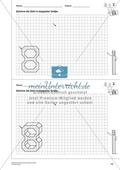 Geometrisches Zeichnen - Verdoppelung der Größe vorgegebener Zahlen bis 10 Preview 3