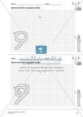 Geometrisches Zeichnen - Verdoppelung der Größe vorgegebener Zahlen bis 10 Preview 4