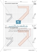 Geometrisches Zeichnen - Verdoppelung der Größe vorgegebener Zahlen bis 10 Preview 7