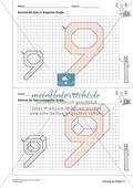 Geometrisches Zeichnen - Verdoppelung der Größe vorgegebener Zahlen bis 10 Preview 9