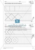 Geometrisches Zeichnen - Weiterzeichnen von Ornamenten Preview 1