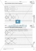 Geometrisches Zeichnen - Weiterzeichnen von Ornamenten Preview 2