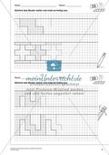 Geometrisches Zeichnen - Weiterzeichnen von Ornamenten Preview 3