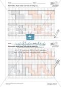 Geometrisches Zeichnen - Weiterzeichnen von Ornamenten Preview 7
