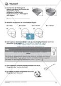 Körperberechnung - Volumen der Kugel Preview 2