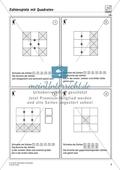 Zahlenspiel mit Quadraten auf niedrigem Anforderungsniveau Preview 1