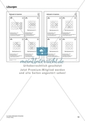 Zahlenspiel mit Quadraten auf mittlerem Anforderungsniveau Preview 6