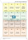 Spielerische Wortschatzübungen auf hohem Anforderungsniveau: Adjektive und wichtige Phrasen übersetzen Preview 5