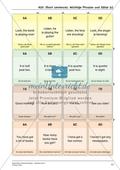 Spielerische Wortschatzübungen auf hohem Anforderungsniveau: Adjektive und wichtige Phrasen übersetzen Preview 7