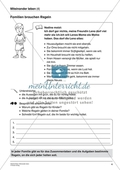 Miteinander leben - Familien brauchen Regeln: Bedeutsamkeit von Regeln erarbeiten und wichtige Regeln identifizieren Preview 1