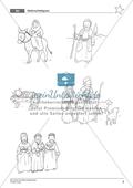 Die Weihnachtsgeschichte - Die Weisen aus dem Morgenland: Handlung erarbeiten + Weihnachtsbüchlein gestalten Preview 5