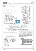 Die Weihnachtsgeschichte - Die Weisen aus dem Morgenland: Handlung erarbeiten + Weihnachtsbüchlein gestalten Preview 8