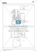 Abraham und Sara bekommen einen Auftrag - Geschichte anhand von Bildern nachvollziehen + Einen fiktiven Koffer packen Preview 3