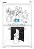 Abraham und Sara - Abraham unter dem Sternenhimmel: Geschichte anhand von Bildern nachvollziehen + Dialog verfassen Preview 2