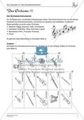 Das Orchester: Instrumente und Sitzordnung Preview 1