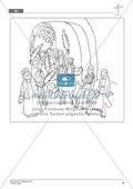 Die Ostergeschichte - Jesus zieht in Jerusalem ein: Geschichte anhand von Erzählbildern nachvollziehen + Bild gestalten Preview 4