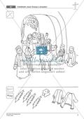 Die Ostergeschichte - Jesus zieht in Jerusalem ein: Geschichte anhand von Erzählbildern nachvollziehen + Bild gestalten Preview 5