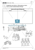 Die Ostergeschichte - Jesus als König: Passende Symbole für Jesus auswählen + Wissen über Jesus visualisieren Preview 2