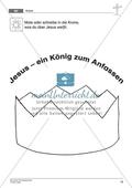 Die Ostergeschichte - Jesus als König: Passende Symbole für Jesus auswählen + Wissen über Jesus visualisieren Preview 3