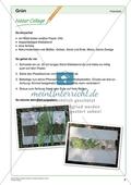 Kreatives Gestalten in Grün: Freiarbeitsmaterial - Natur-Collage Preview 1