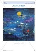 Kreatives Gestalten in Blau: Eine Bildbetrachtung und -beschreibung am Beispiel 'Traum in der Wüste' Preview 1